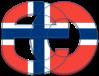 EO logo with Norwegian flag